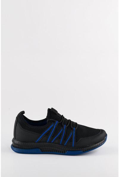 Wanderfull Günlük Siyah Erkek Koşu ve Spor Ayakkabı