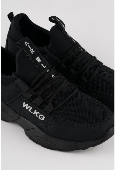 Walking Depodan Siyah Erkek Günlük Spor Ayakkabı