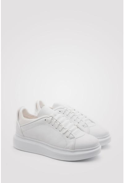 Conteyner Günlük Kalın Taban Erkek Ayakkabı Sneaker