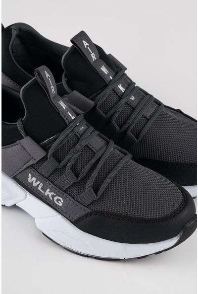 Walking Depodan Gri Erkek Günlük Spor Ayakkabı
