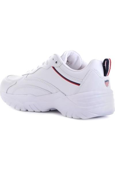 U.S. Polo Assn. Tracey Beyaz Erkek Sneaker