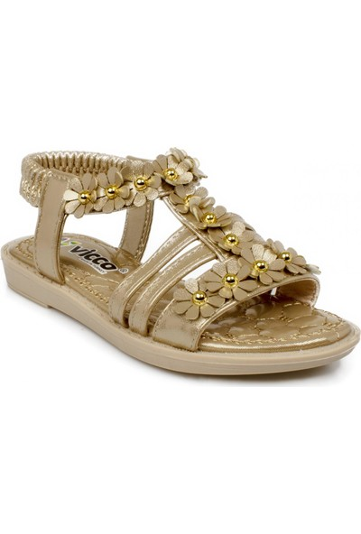 Vicco 321.f20Y.376 Filet Altın Çocuk Sandalet
