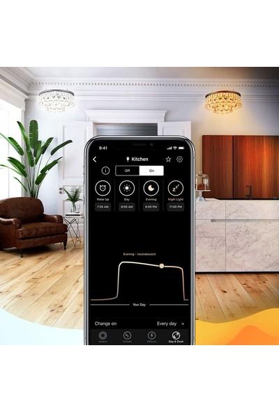 Lıfx Mını Day Dusk Ayarlanabilir Akıllı LED Ampül 16 Milyon Renk