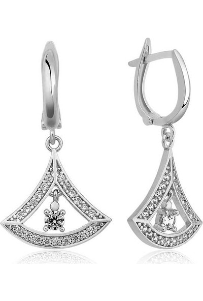 Armagano Gümüş Klasik Küpesi
