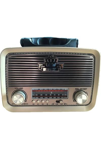 Nikulastar RDL-4635BT Bluetooth Radyo Hoparlör