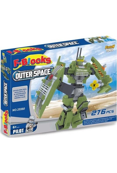 Furkan Toys F-Blocks Space Seri 276 Parça