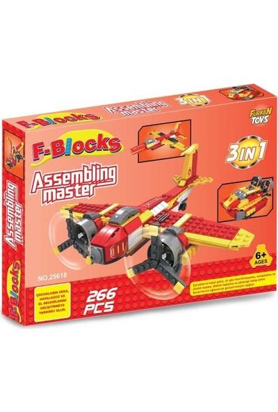 Furkan Toys F-Blocks Master Seri 266 Parça