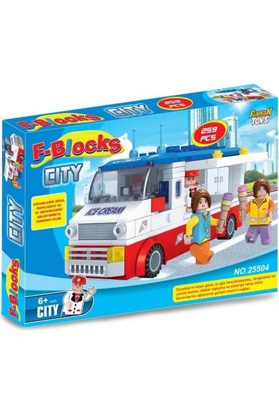 Furkan Toys F-Blocks City Seri 259 Parça