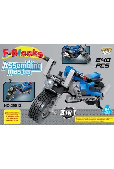 Furkan Toys F-Blocks Master Serı 240 Parça
