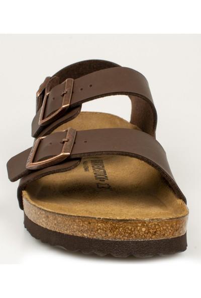 Birkenstock Milano Kahverengi Erkek Sandalet