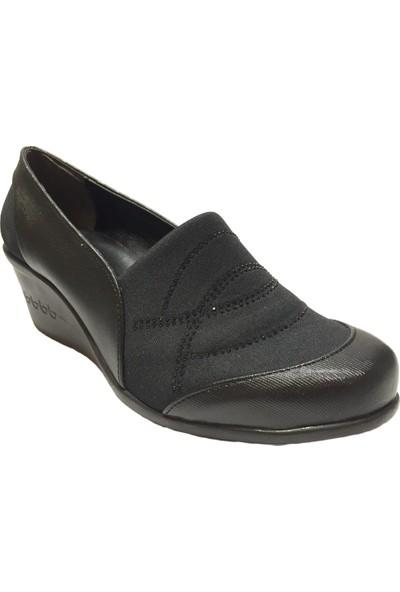 Pandora Moda 10051 Kadın Abiye Ayakkabı Siyah