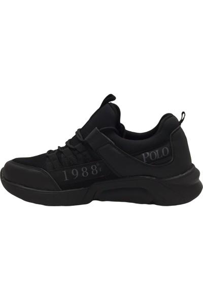 Polo1988 310 Erkek Spor Ayakkabı Siyah