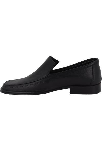 Hobby Siyah Kösele Erkek Ayakkabı YKT28
