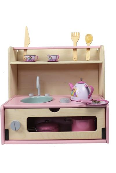 Edu Dizayn Secret Montessori Oyuncak Mutfak Seti