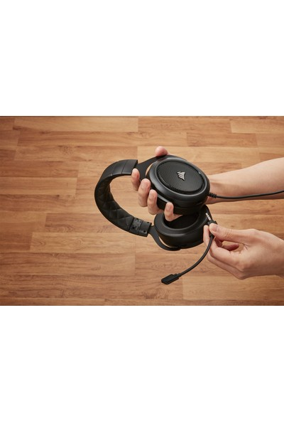 Corsair CA-9011215-EU HS50 Pro Stereo Kulaklık Siyah