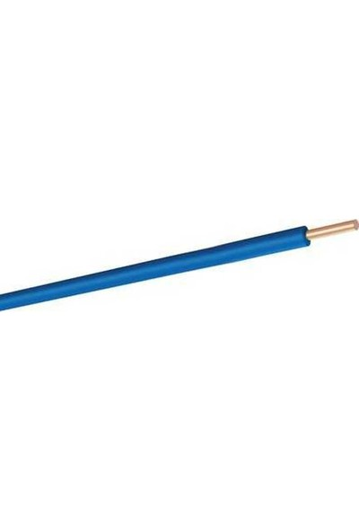 Hes H07V-U Nya Kablo Tam Bakır Mavi 2,5 mm x 15 m