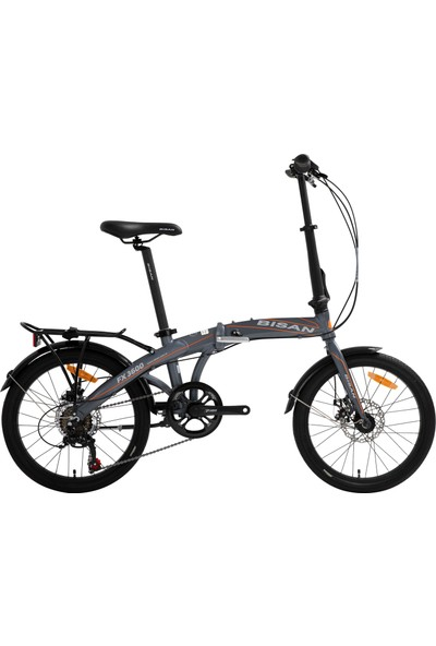 Bisan Fx 3600 Katlanır Bisiklet 2020 Üretim 20 Jant Gri