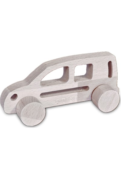 Omca Ahsap Oyuncak Hafif Ticari Model Araba Masif Ahsap