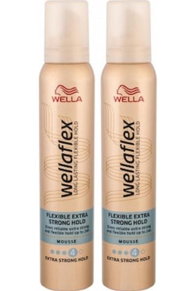 Wellaflex 2 Adet Extra Guclu Tutus Kopuk 200ml