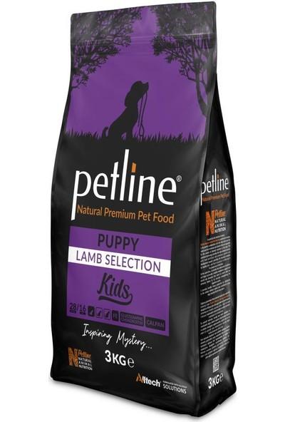 Pet Line Natural Premium Lamb Kuzu Etli Yavru Köpek Maması 3 kg
