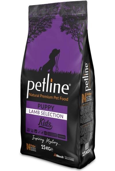 Pet Line Natural Premium Lamb Kuzu Etli Yavru Köpek Maması 15 kg