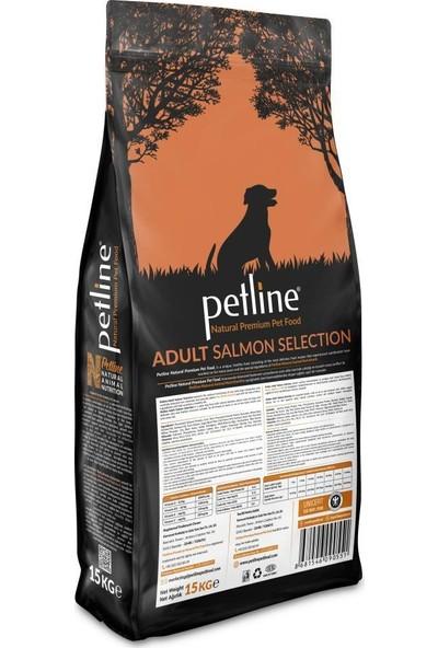 Pet Line Natural Premium Salmon Somonlu Yetişkin Köpek Maması 15 kg