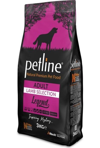 Pet Line Natural Premium Lamb Kuzu Etli Yetişkin Köpek Maması 3 kg