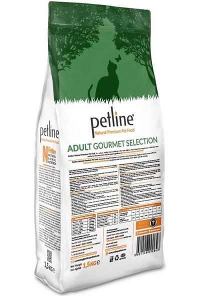 Pet Line Natural Premium Gourmet Karışık Yetişkin Kedi Maması 1,5 kg