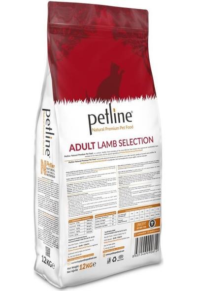 Pet Line Natural Premium Lamb Kuzu Etli Yetişkin Kedi Maması 12 kg