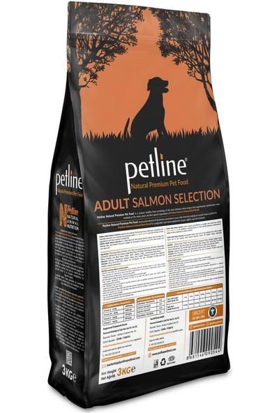 Pet Line Natural Premium Salmon Somonlu Yetişkin Köpek Maması 3 kg