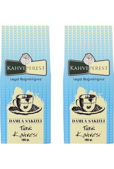 Kahveperest Damla Sakızlı Türk Kahvesi 2'li Paket 100 gr