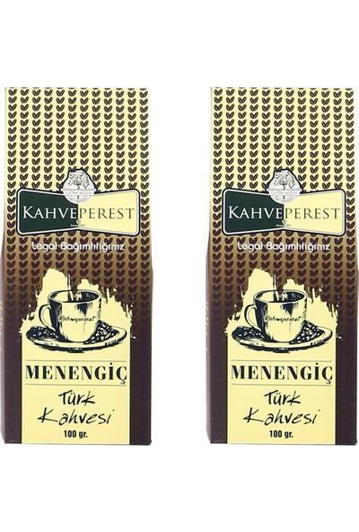 Kahveperest Menengiç Türk Kahvesi 2'li Paket 100 Gr.
