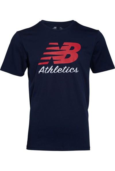 New Balance Athletics Erkek T-Shirt MPS002-Avi