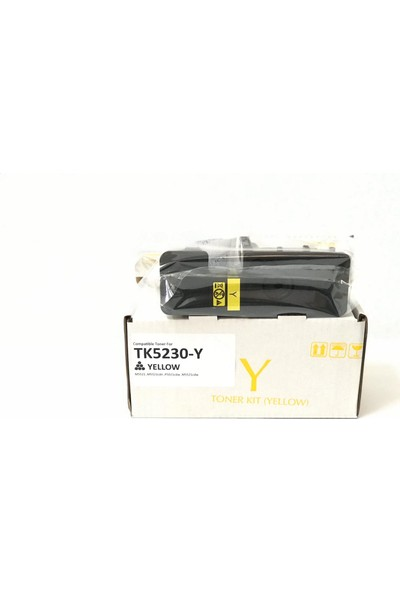 Bitoner Kyocera TK5230 Muadil Toner 2.200 Sayfa Sarı