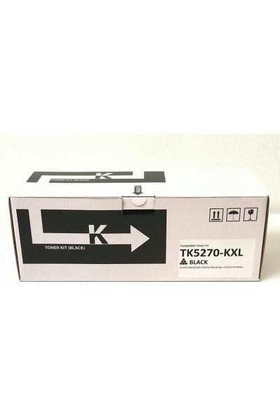 Bitoner Kyocera TK5270 Yüksek Kapasite Muadil Toner 12.000 Sayfa Siyah