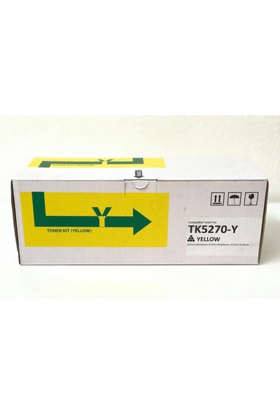 Bitoner Kyocera TK5270 Muadil Toner 6.000 Sayfa Sarı