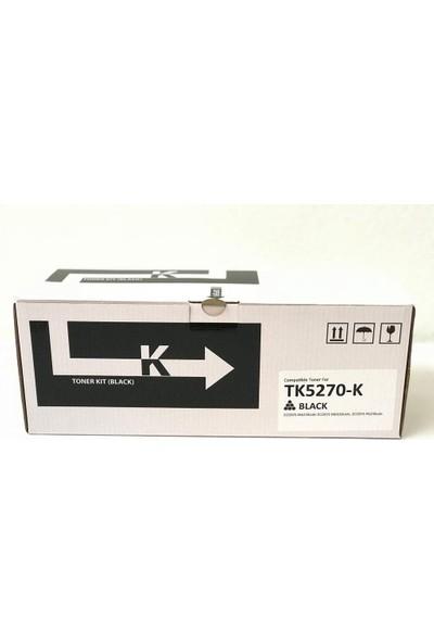 Bitoner Kyocera TK5270 Muadil Toner 8.000 Sayfa Siyah