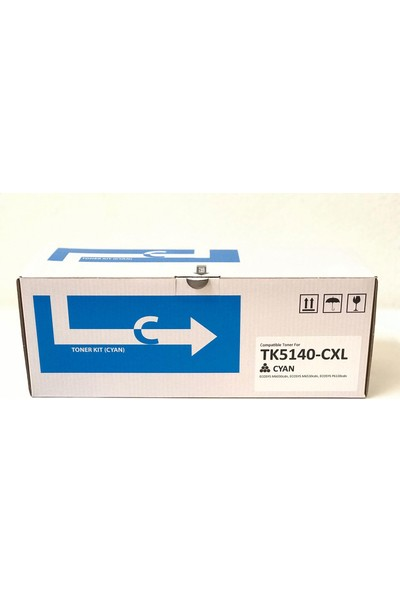Bitoner Kyocera TK5140 Muadil Toner 5.000 Sayfa Mavi