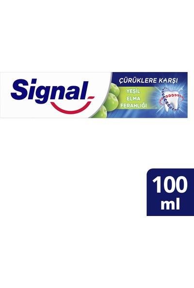 Signal Çürüklere Karşı Yeşil Elma Ferahlığı 100ML