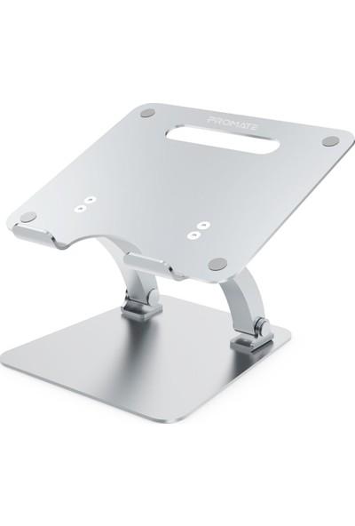 Promate Deskmate-4 Laptop Standı Ayarlanabilir Alüminyum Kaymaz