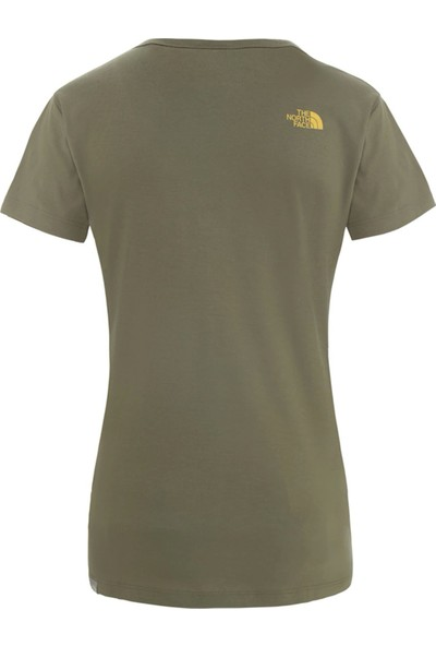 The North Face Haki Kadın Günlük Tişört NF00A3H67D61 W Simple Dome Tee
