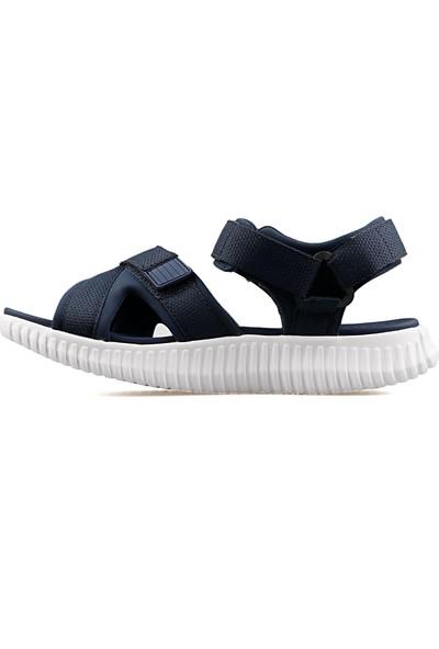 Skechers Lacivert Erkek Günlük Sandalet 51722-NVY Elite Flex
