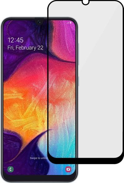 MF Product Jettpower 0429 Renkli Ekran Koruyucu Cam Samsung Galaxy A50