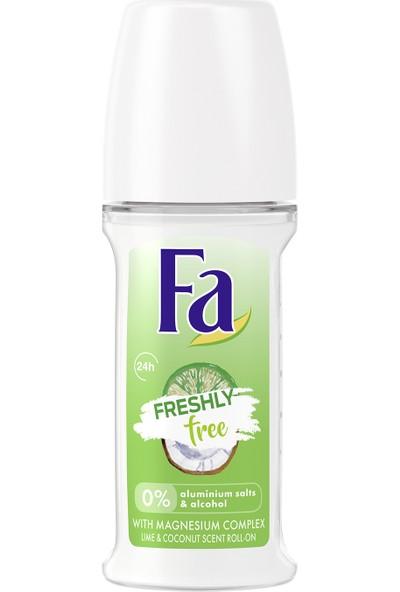 Fa Freshly Free Misket Limonu & Hindistan Cevizi Roll-On 50 ml Kadın