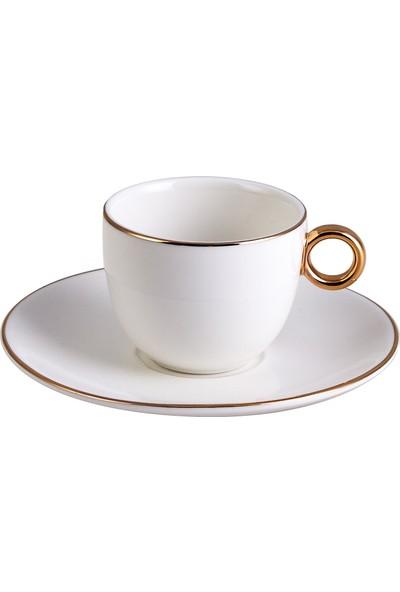 Karaca Ring 6 Kişilik Kahve Fincan Takımı