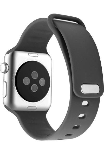 Promate Rarity-42Ml Apple Watch Saat Kordonu Silikon Ter Geçirmez 42mm/44mm