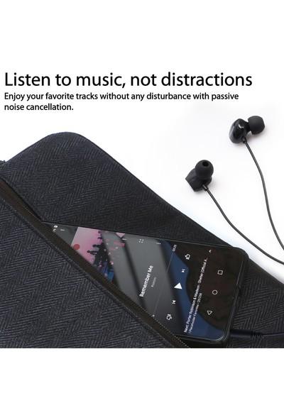 Promate Presto Kulaklık Kablolu Stereo Gürültü Önleyici Kulak İçi Mikrofonlu