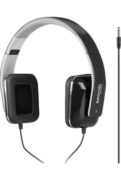 Promate Sonata Kulaklık Kablolu Ayarlanabilir Stereo Mikrofonlu HiFi