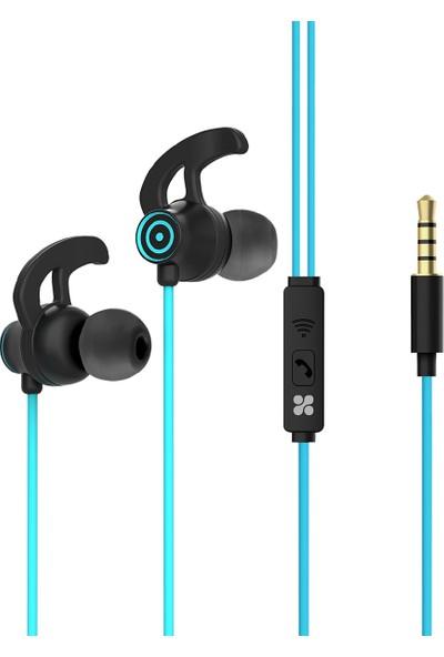 Promate Swift Kulaklık Kablolu Kulak İçi Mikrofonlu Gürültü Önleme