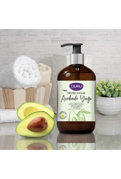Duru Değerli Yağlar Nemlendiricili Avokado Yağı Sıvı Sabun 500 ml